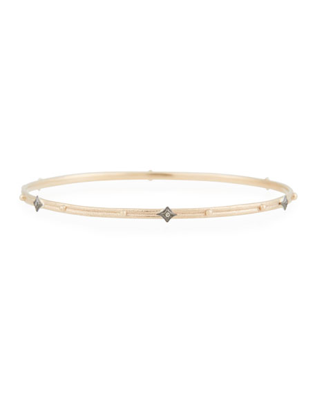 Armenta New World Champagne Diamond Crivelli Bangle Bracelet