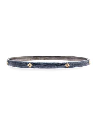 New World Diamond Crivelli & Enamel Bangle