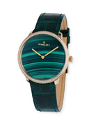 Gomelsky The Audrey Malachite Dial 36mm Watch