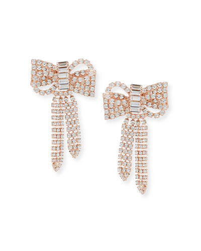 Lola Crystal Bow Earrings