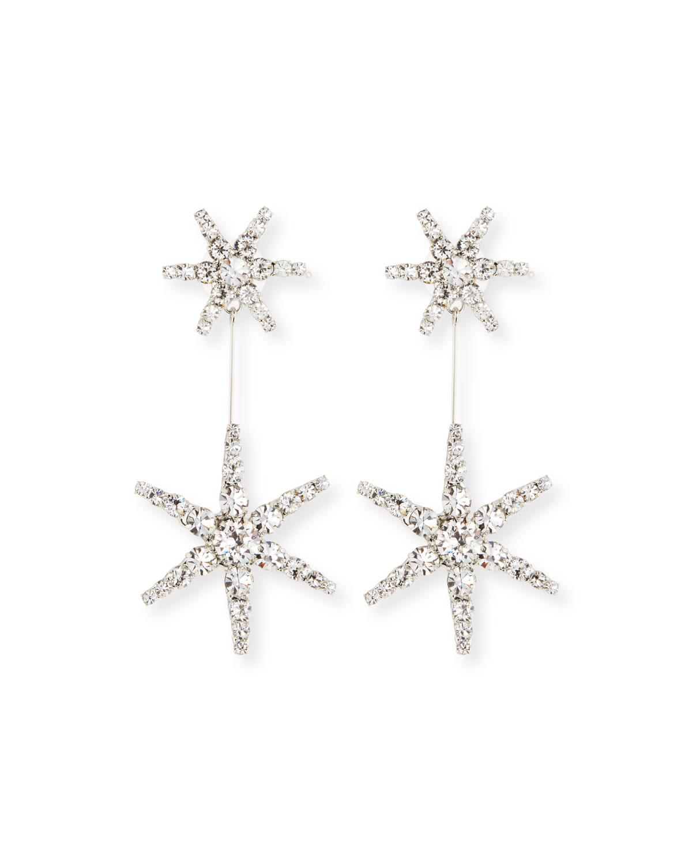 Jennifer Behr Estee Crystal Star Earrings