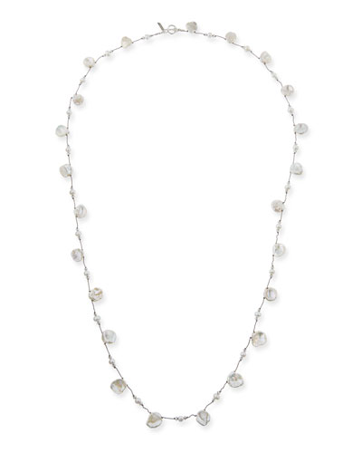 Pearl Combination & Crystal Necklace