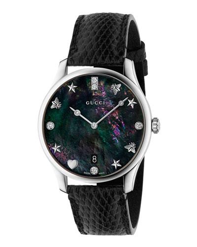c1bca7f1fc3 Quick Look. Gucci · 36mm G-Timeless Diamond Watch ...