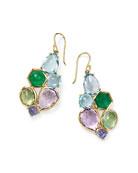 Ippolita Rock Candy 6-Stone Cluster Earrings in Hologem