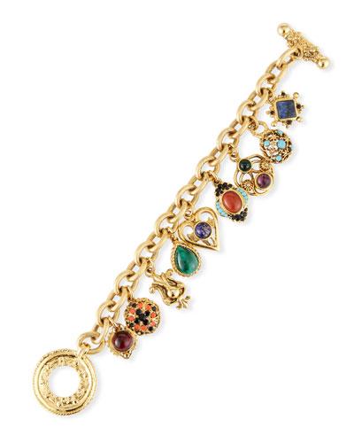 Multicolor Charm Bracelet
