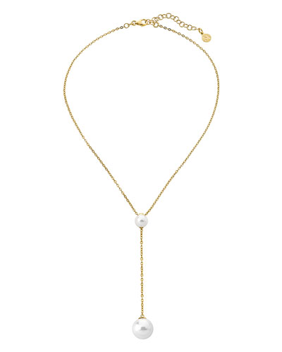 feb8da93 Gold Plated Pearl Necklace | Neiman Marcus
