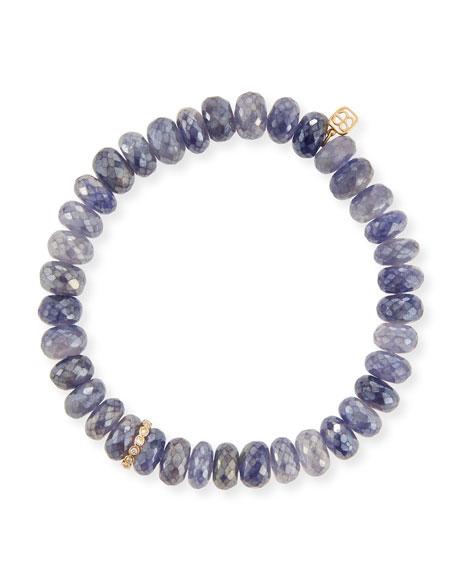 Sydney Evan 14k Diamond & Iolite Bracelet