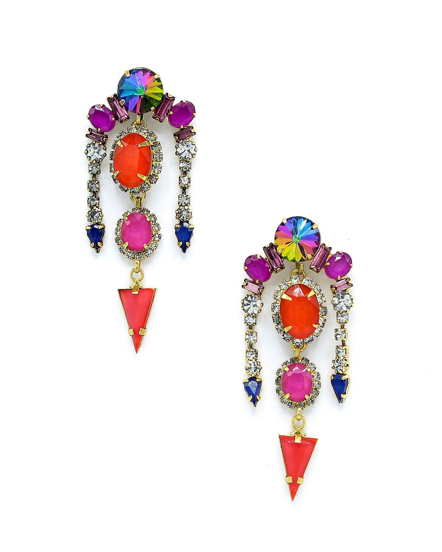 Liora Multicolor Drop Earrings