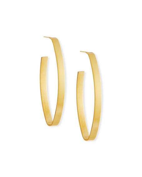 Jennifer Zeuner Maya Hoop Earrings