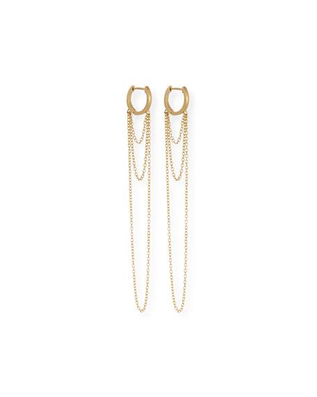 Jennifer Zeuner Elmar Chain Drop Earrings