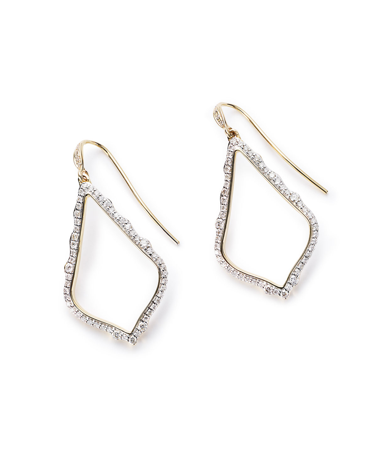 Sophia 14k Gold & Diamond Drop Earrings