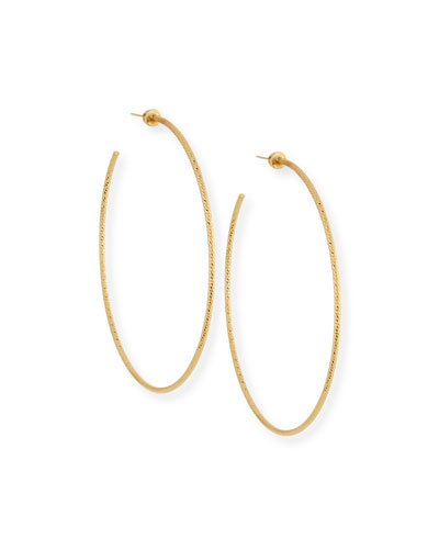 Jennifer Zeuner Donnie Hoop Earrings