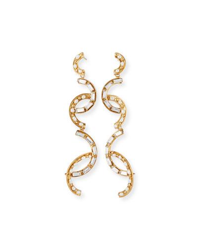 Cristallo Pearl & Crystal Earrings