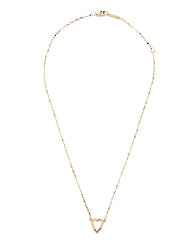 Girls' 14k Gold Heart Pendant Necklace