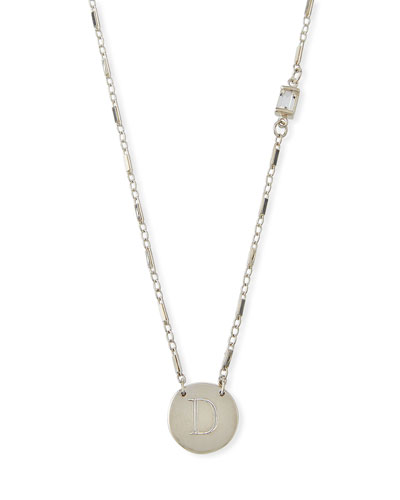 Desiree Personalized Initial Necklace