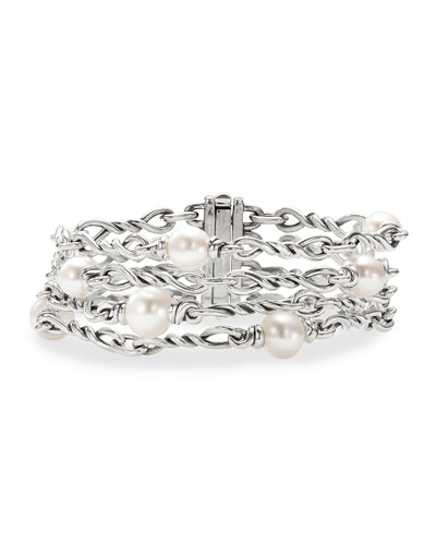 Continuance Pearl 4-Chain Bracelet