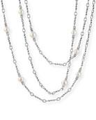 David Yurman Continuance Pearl Small Chain Necklace, 72