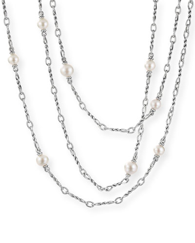 Continuance Pearl Small Chain Necklace, 72