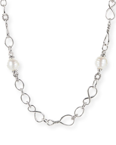 Continuance Pearl Medium Chain Necklace, 36