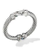 David Yurman 9mm Cable Buckle Bracelet w/ Diamonds