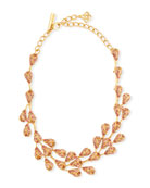 Oscar de la Renta Delicate Evening Crystal Necklace