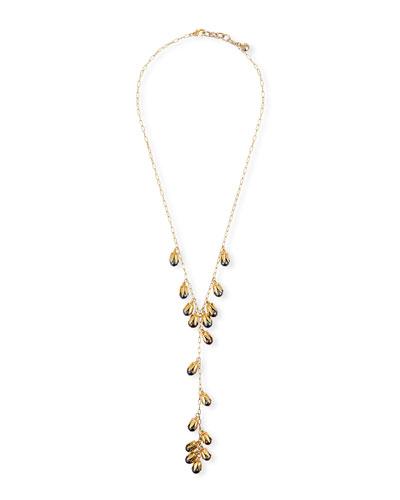 Clairvoyant Pearl Y-Drop Necklace