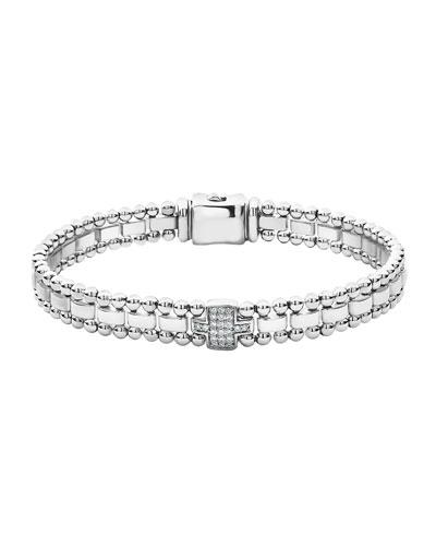 Caviar Spark Diamond-Link Bracelet