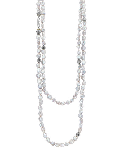 Luna Keshi Pearl-Strand Necklace, 70