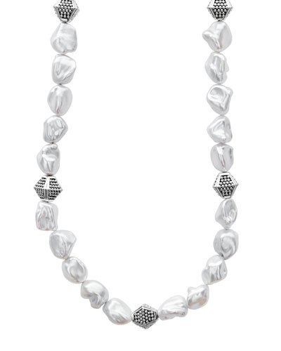 Luna Keshi Pearl-Strand Necklace, 18