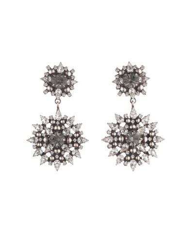 Alby Crystal Drop Earrings