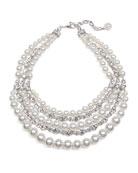 Ben-Amun Bubble Pearl Layer Necklace