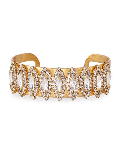 Ryan Crystal Cuff Bracelet