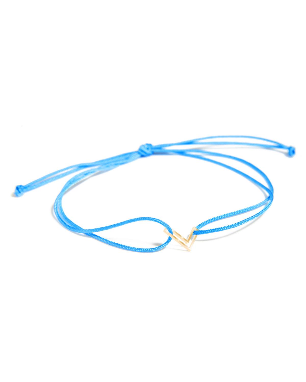 Chain Letter Neon Bracelet