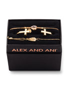 Alex and Ani Cross Cuff Bracelet Gift Set