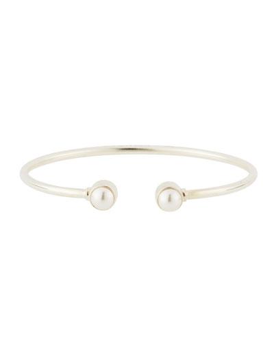 Sea Sultry Cuff Bracelet, Silver