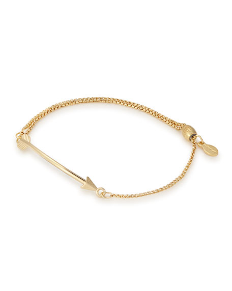 Alex and Ani Arrow Pull-Chain Bracelet
