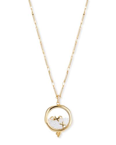 XOXO Shaker Pendant Necklace