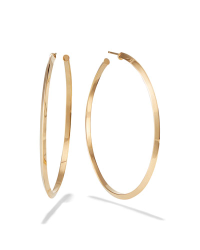 60mm Pointed Royale Hoops