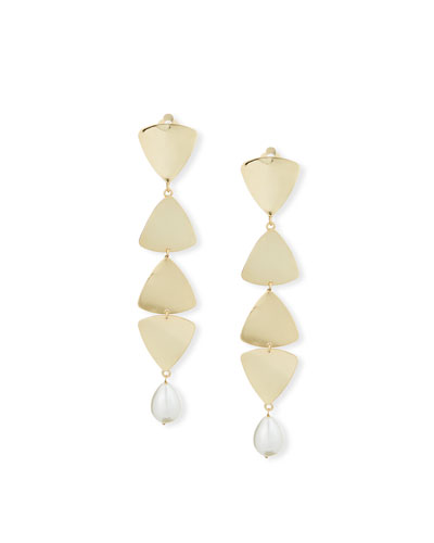 08c4862222e Gold Plated Pearl Earrings | Neiman Marcus