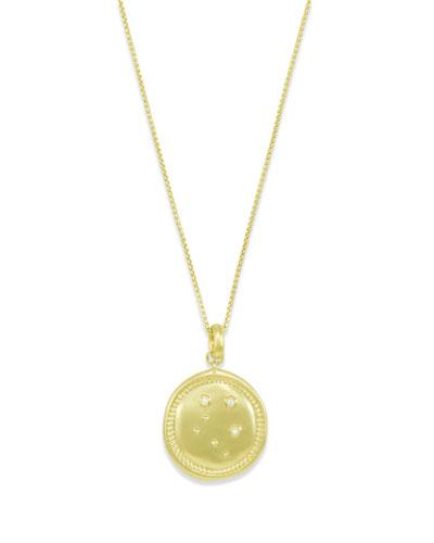 Libra Coin Pendant Necklace