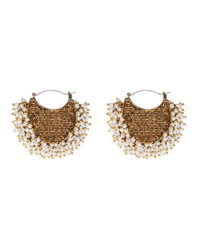 Joey Lux Pearly Earrings