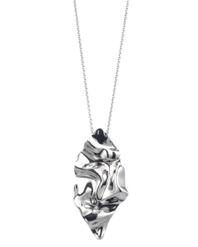 6e7efb6339a9 Quick Look. Alexis Bittar · Crumpled Rhodium Pendant Necklace. Available in  Silver