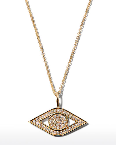 Men/'s//Women/'s 14k solid yellow Real Gold EVIL EYE CZ FLOWER pendant charm small