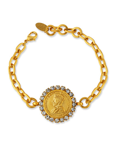 Caswell Coin Bracelet