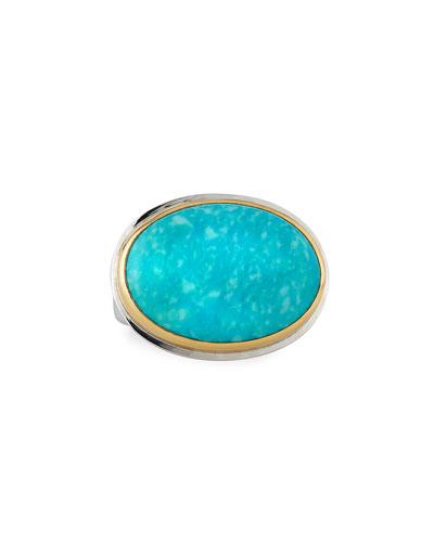 Comfort-Cut Turquoise Ring