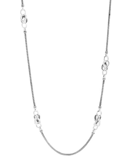 John Hardy Asli Classic Chain Mini-Link Sautoir Necklace