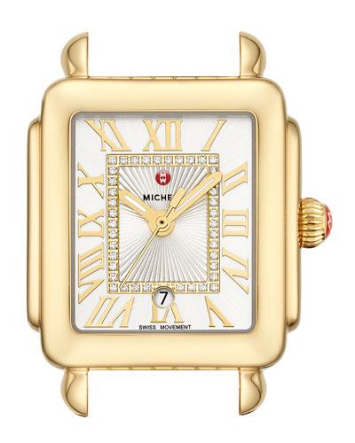 Deco Madison Mid Watch Head, Gold