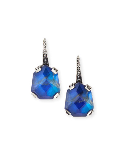 Galactical Doublet Drop Earrings