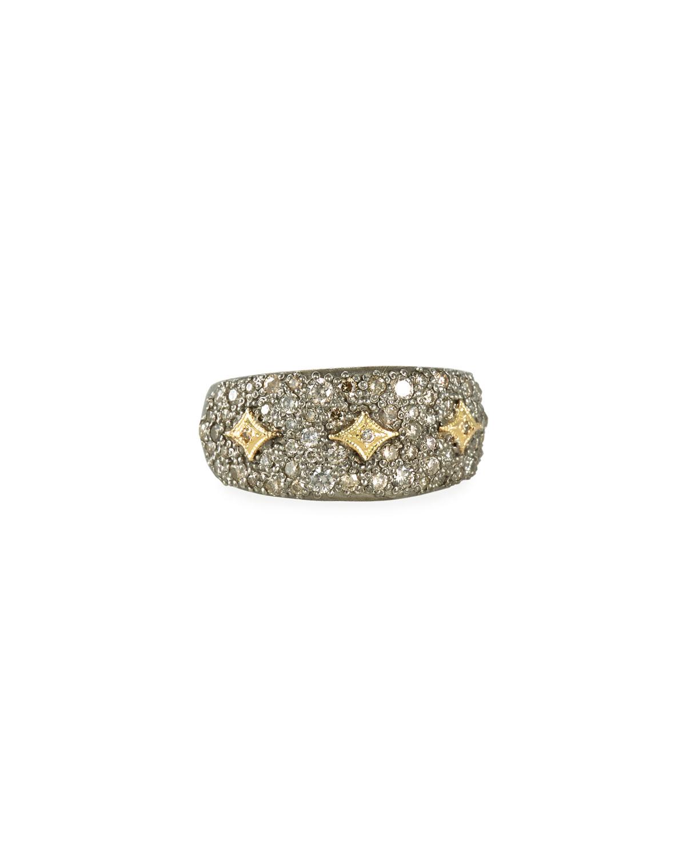Old World Diamond Pave Ring w/ Crivelli
