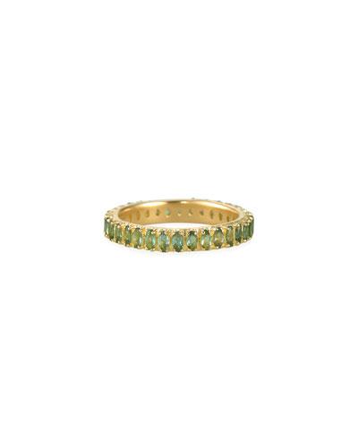 Sueno 18k Blue/Green Tourmaline Ring, Size 6.5